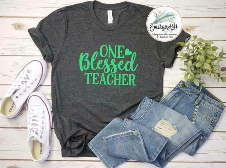 One Blessed Teacher Tee