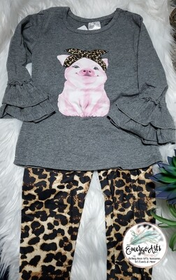 HAM IT UP! 2PC LEOPARD SET