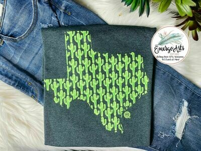 GG Texas Cactus Graphic Tee