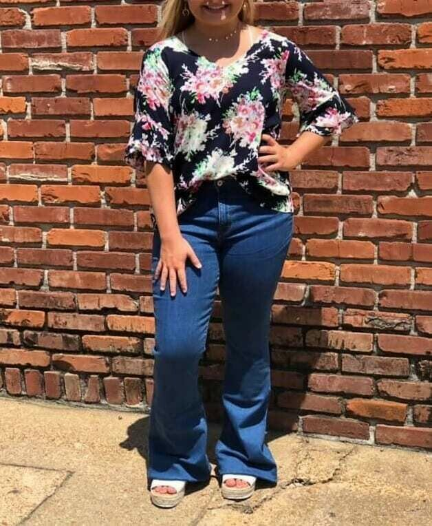 Ripley Floral Top