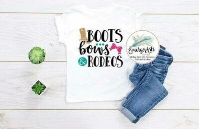 Boots Bows Rodeo Tee