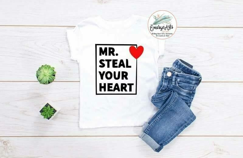 Mr Steal Your Heart Tee