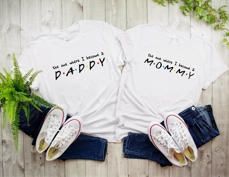 The one where I become a parent Tee