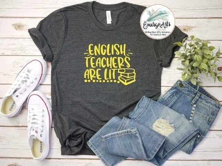 English Teachers are Lit Tee