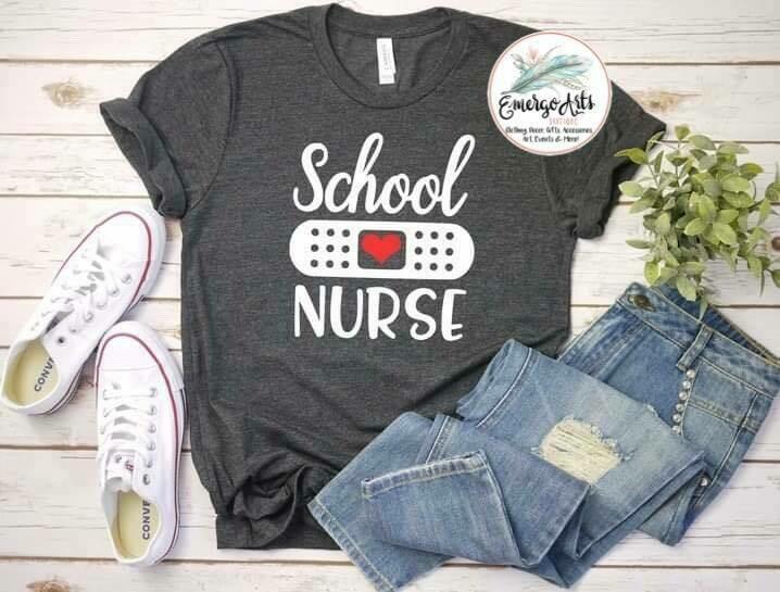 School Nurse Tee