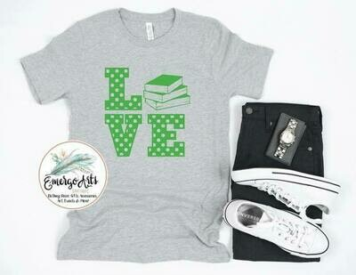 Love Books Tee