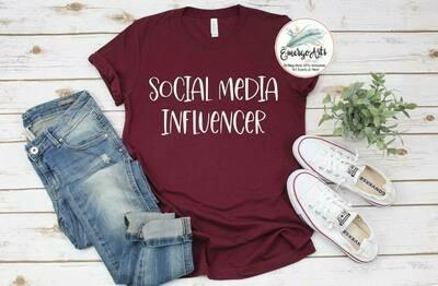 Social Media Influencer Tee