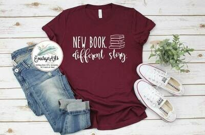 New Book Different Story Tee