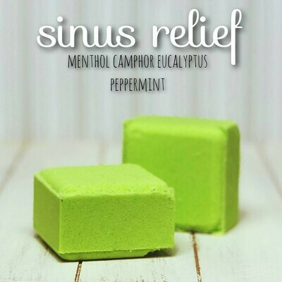 Sinus Relief - Shower Cube