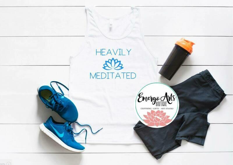 Heavily Meditated Tank or Tee