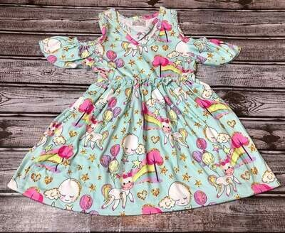 WHIMSICAL PEEK A BOO DRESS