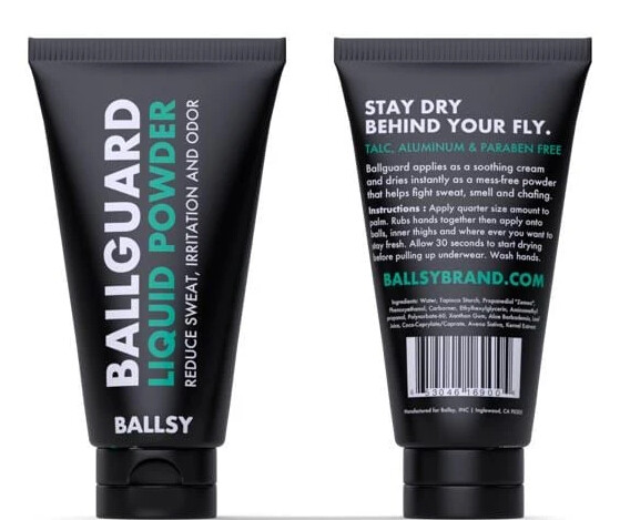 Ballsy Ball Guard Liquid Powder