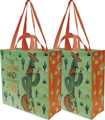 Primitives by Kathy FIND SOMEONE WHO UNDERSTANDS YOU market tote