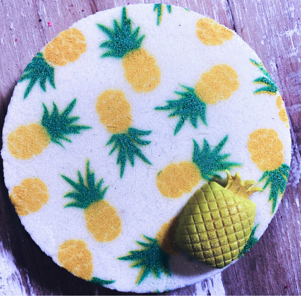 Pretty Pineapple Boss Bath Bomb