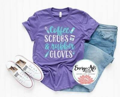 Coffee Scrubs & Rubber Gloves Tee