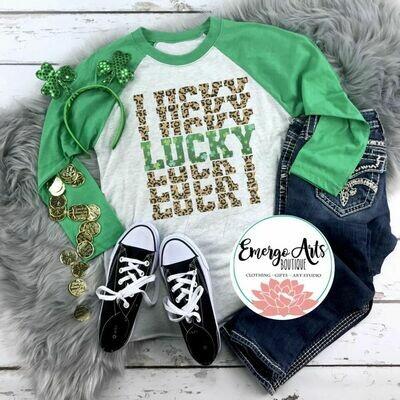 Lucky Leopard Tee