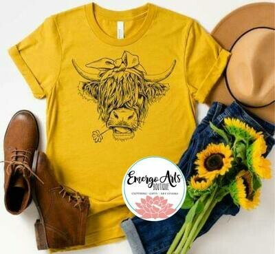 Shaggy Cow Tee