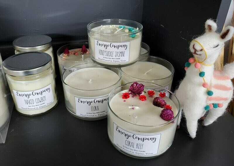 Lavender Sage - Emergo Co. Soy Candles