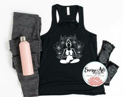 Meditate Tank or Tee