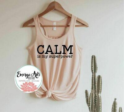 Calm Tank or Tee