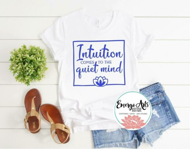 Intuition Quiet Mind Tank or Tee