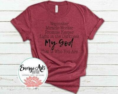 Waymaker My God Tee