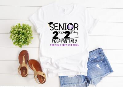 Senior 2020 QuarantineTee