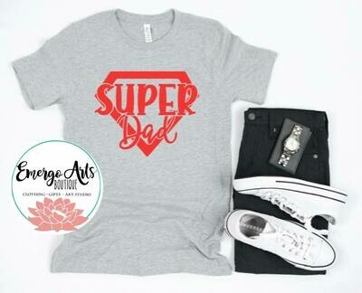 Super Dad Fathers Day Tee
