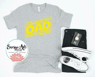 Best Dad in the Galaxy Fathers Day Tee