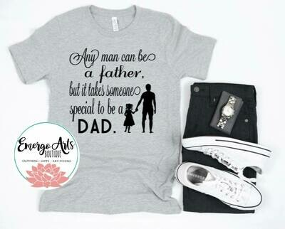 Special Dad Fathers Day Tee