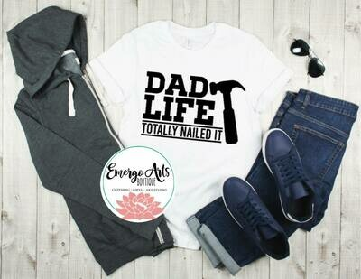 Dad Life Fathers Day Tee