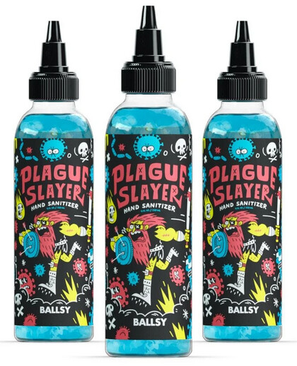 Plague Slayer Sanitizer - Ballsy Products