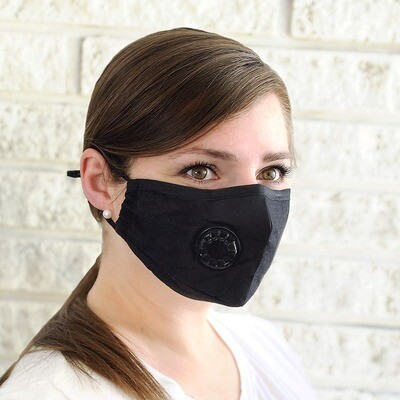 Face Mask with ventilation & Filter