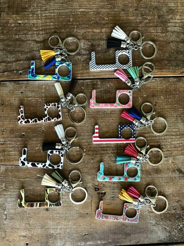 Acryclic No-Touch KeyChains