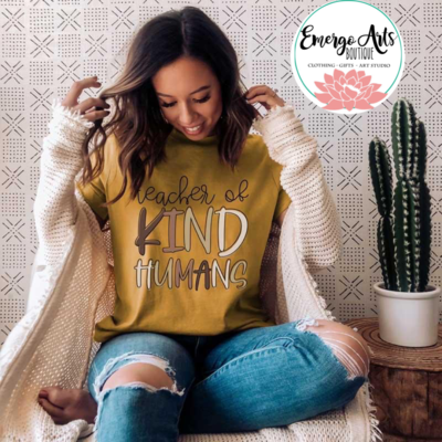 Teaching Kind Humans Tee