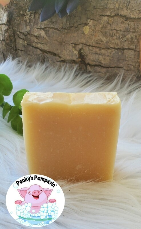 Pineapple Sherbet - Pooky's Pamperin' Soap Bar