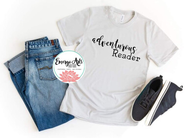 Adventurous Reader Books Tee