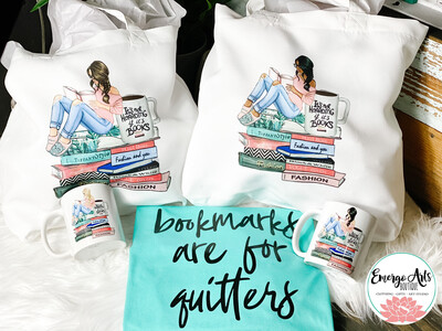 It's Not Hoarding if its Books - Tote Bag