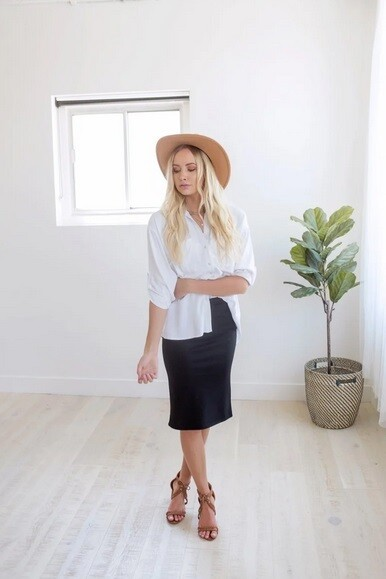 Darling Pencil Skirt - Multiple Colors