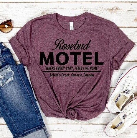 Rosebud Motel Tee