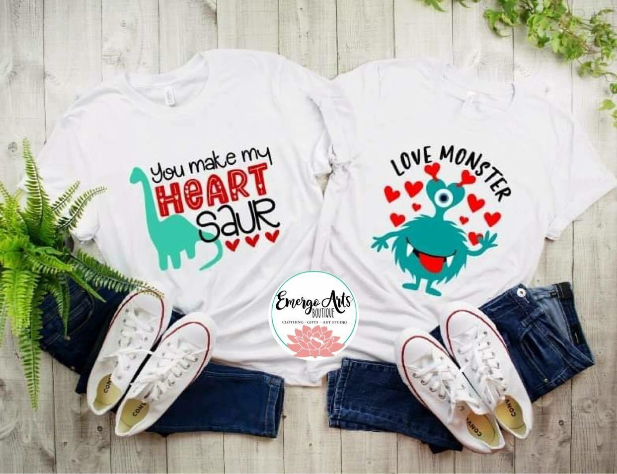 Heart Saur Shirt