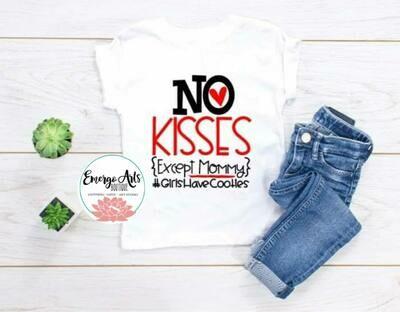 No Kisses Shirt