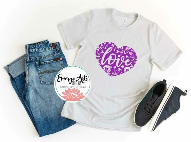 Floral Love Shirt