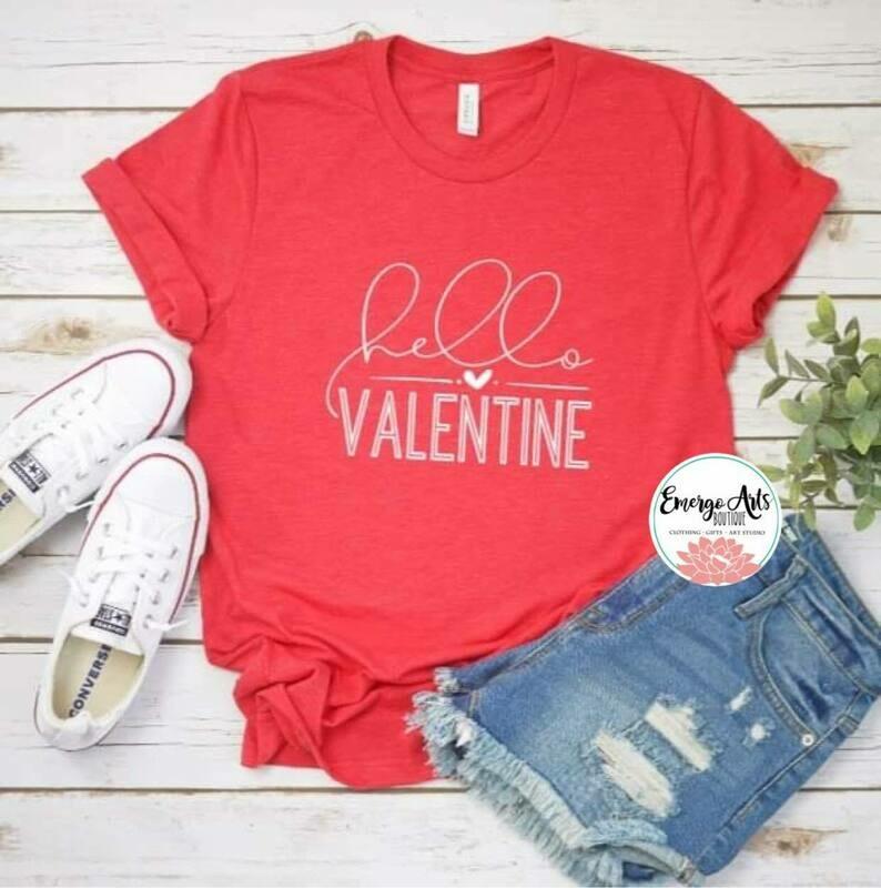 Hello Valentine Shirt