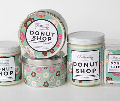 Donut Shop - Buttercup Candles (Multiple Sizes)