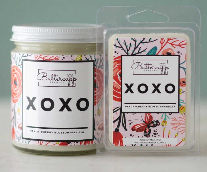 XOXO - Buttercup Candles (Multiple Sizes)