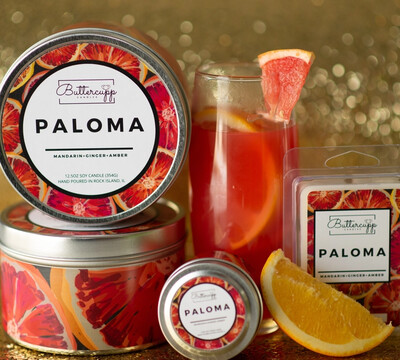 Paloma - Buttercup Candles (Multiple Sizes)