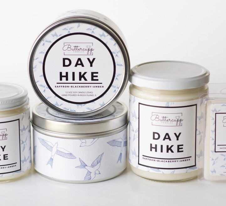 Day Hike - Buttercup Candles (Multiple Sizes)