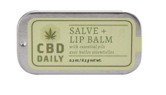 CBD Daily SSalve + Lip Balm