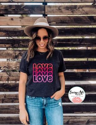 Love Duplicated Shirt
